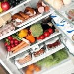 Voeding bewaren bij juiste temperaturen
