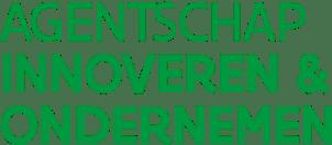 Logo Agentschap Innoveren & Ondernemen van de Vlaamse overheid