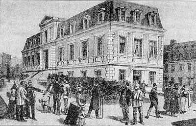 Het Institut Pasteur in 1888.