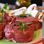 Vlees van bij de slager