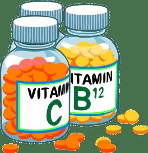 Vitamines B1, B2,B3, B5, B6, B8, B11, B12, C, D, E en vormen onder andere de bouwstenen van ons lichaam