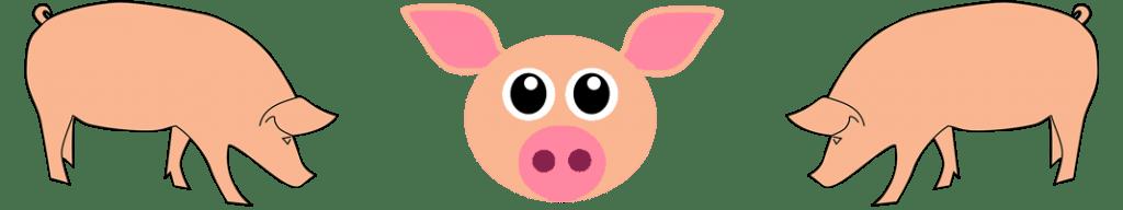 Varkensvlees banner