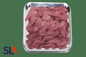 Reepjes lamsvlees