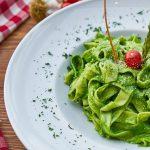Pasta met Pesto, Link naar Pasta Recepten met Pesto vindt je hier op Slagers Vlaanderen.