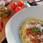 Spaghetti Bolognaise, link naar Pasta Recepten met vlees vindt je hier op Slagers Vlaanderen.