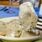 Oost Europese gerechten Pelmeni