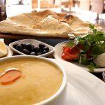 Turks Eten Soep Meze Alanya Diner Turkse Keuken