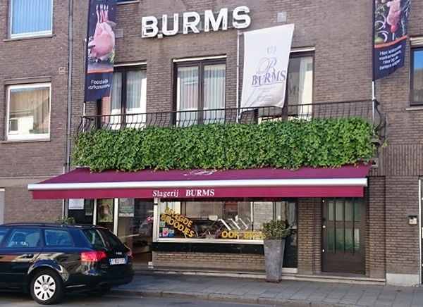 Buitenaanzicht Slagerij Burms Gent