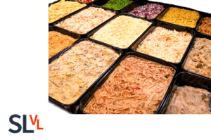 Salades in de Slagerij