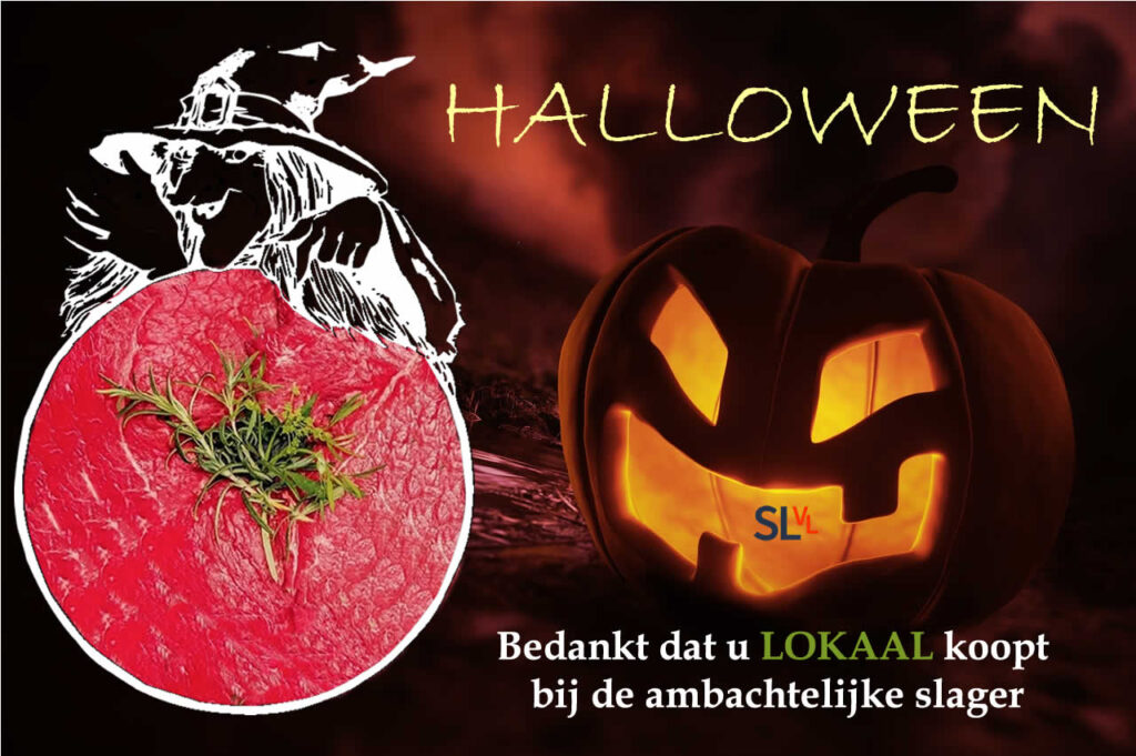 Halloween vieren met vlees